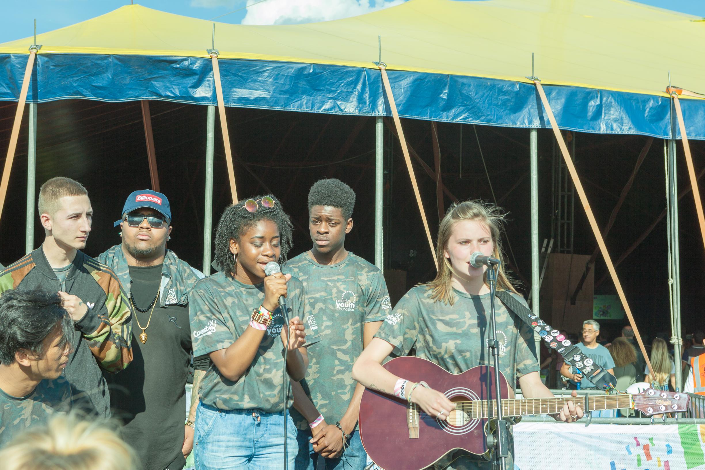 Kiaya Lyons Positive Youth foundation